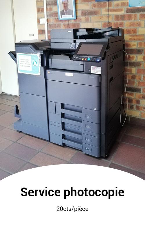 service photocopie